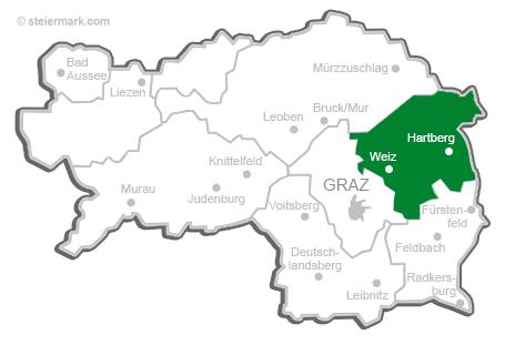 Steiermark Karte Flüsse.Oststeiermark Privatvermieter Steiermark